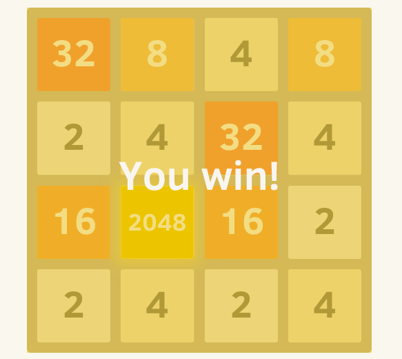 Using Artificial Intelligence to solve the 2048 Game (JAVA
